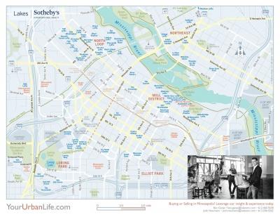 Southwest Minneapolis neighborhood maps Minneapolis Condo map
