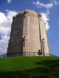 Located in Tangletown, Minneapolis, Washburn Park Water Tower is an iconic tribute to the art deco era of the 1920s